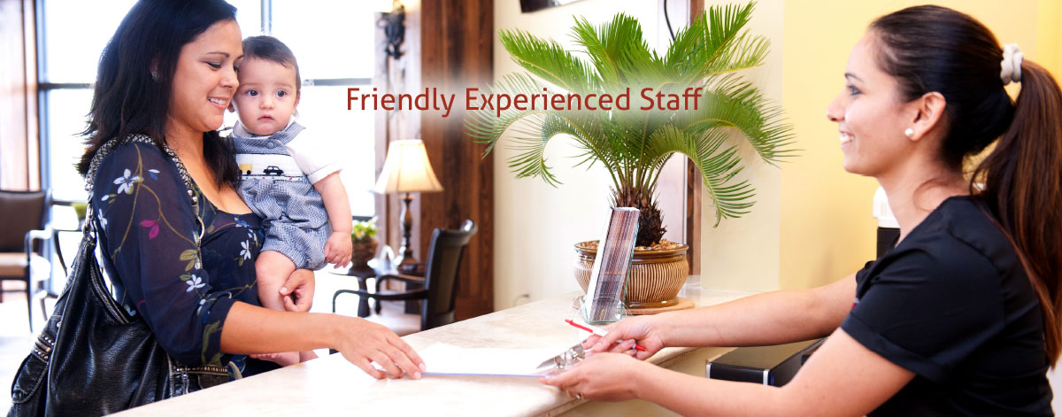 Friendly Experienced Staff