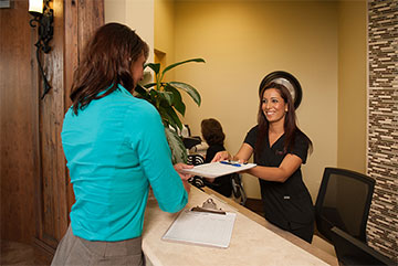 Image Of Medical Receptionist At Walk In Clinic, Mobile AL - Compass Urgent Care